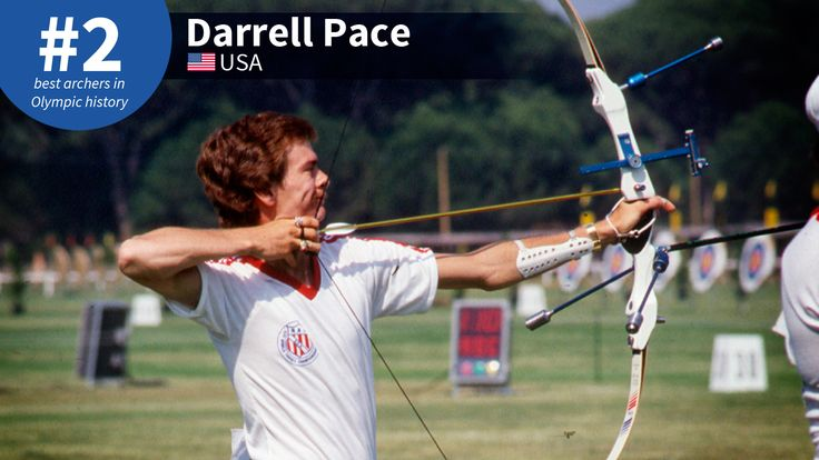 Best Olympic Archers of All-Time: #2 Darrell Pace