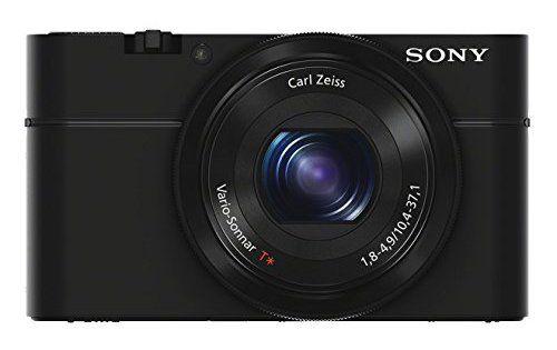 """Sony DSC-RX100 Appareil Photo Expert Large Capteur 1"""" CMOS Exmor, 20,2 Mpix, Optique Lumineuse: CMOS Exmor R 20,2 mégapixels de type 1.0,…"""