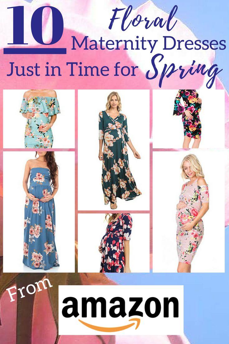 Maternity Floral Dresses | Maternity Dress | maternity Fashion | Maternity Style | Maternity Clothes | Maternity | Bump Style | Bump Fashion | Pregnacy Fashion | Mother Tucker