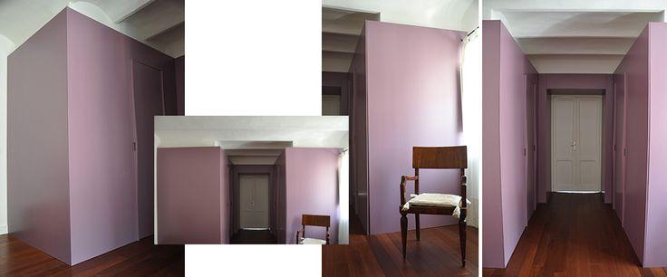SM - Home - interior design by arch Simona Perrotta GASParch -  Wardrobe and private bathroom (Bedroom)