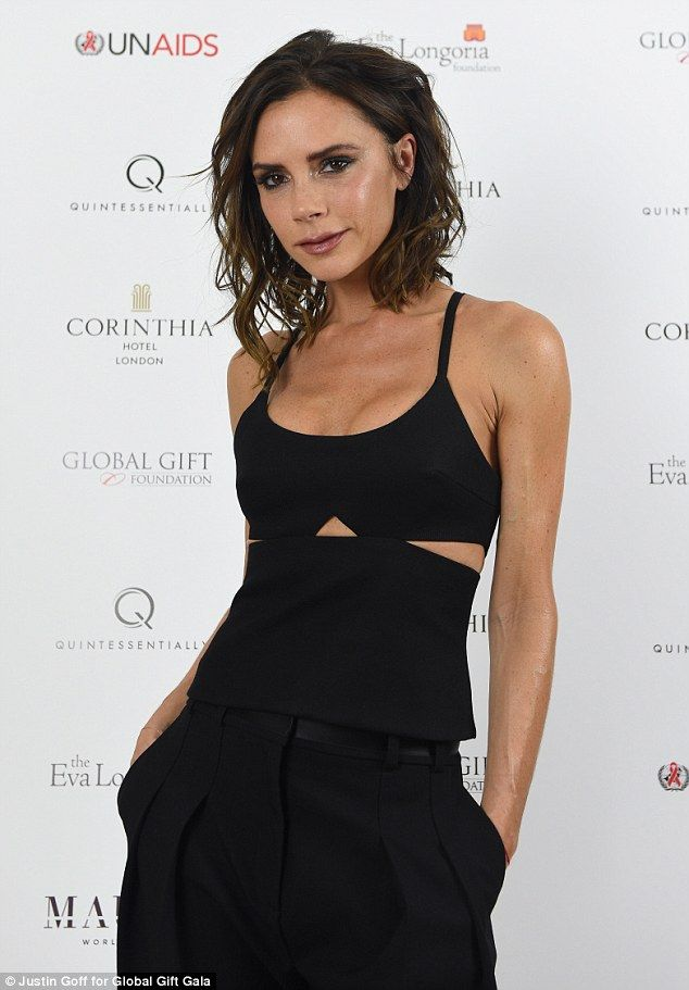 Cut out some serious style like Victoria Beckham  Click 'visit' to buy it now   #DailyMail