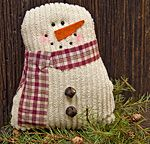 KP Creek Gifts - Chenille Snowman, 4""