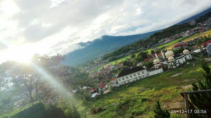 Indahnya kotaku @Bukittinggi di pagi hari