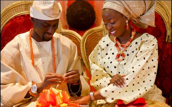 West African Traditional engagement