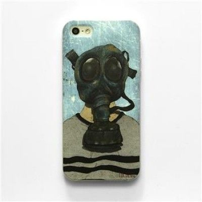 Hand Draw Design iphone 5/5s Case (Mask)