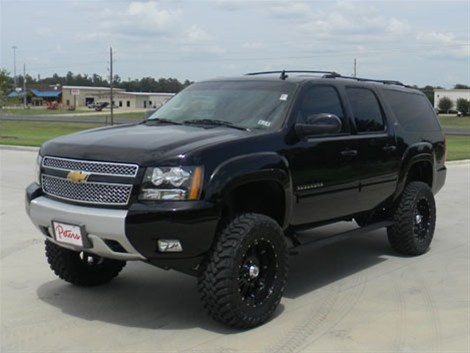 2012 Chevrolet Suburban 1500 Lt With 4 Quot Lift Kit 35 Quot Toyo