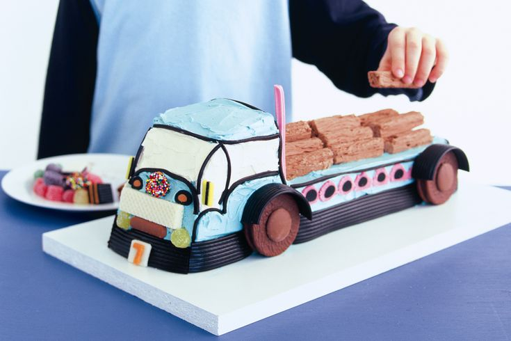 Creating a spectacular birthday cake that will light up the kids faces is made simple in this step-by-step recipe.