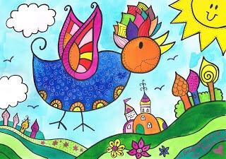 Mag jouw kind thuiskomen met een zelfgemaakte tekening van een paarse boom of een zon met een gezicht? Reacties zijn heel welkom!