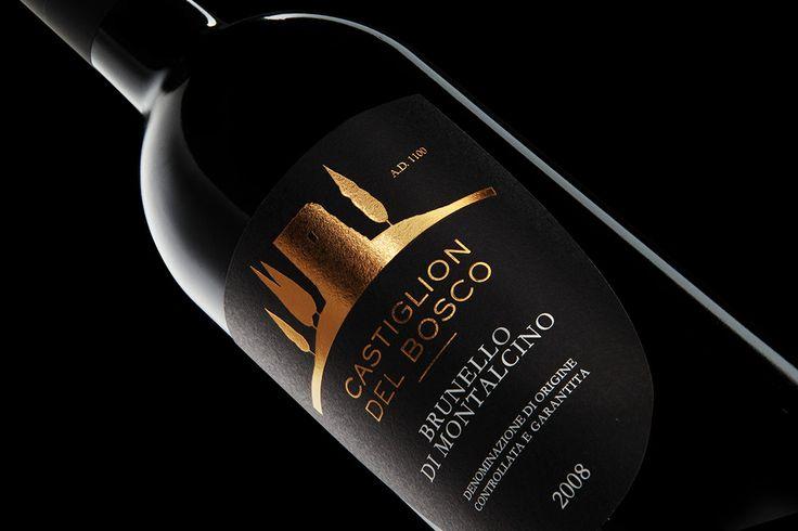 Castiglion del Bosco Wine  - Studio immagine & etichette www.aldosegat.com