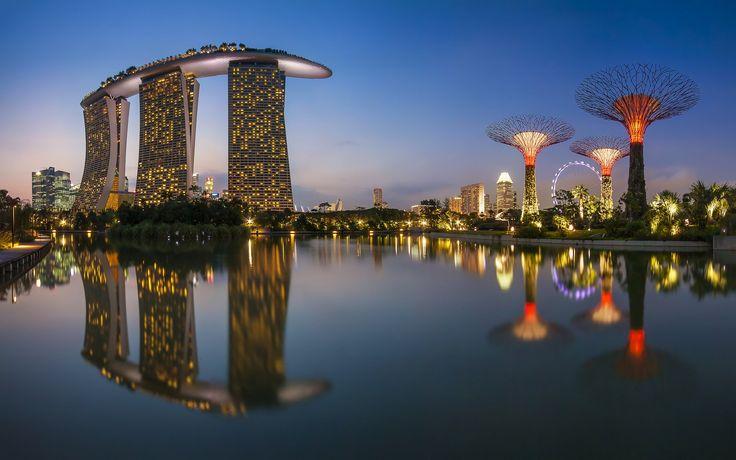 Un paseo virtual para conocer Singapur, el destino en el que Vega va a estar toda esta semana...