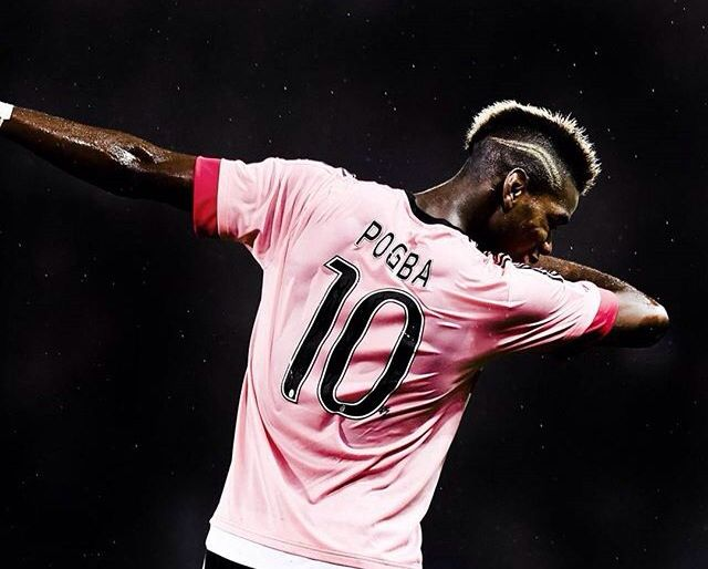 Pogba .. Dancing after Goal