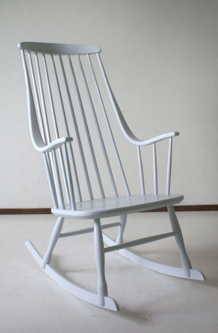 Nesto schommelstoel Grandessa - 1958 -  Lena Larsson - www.dewittemuur.nl