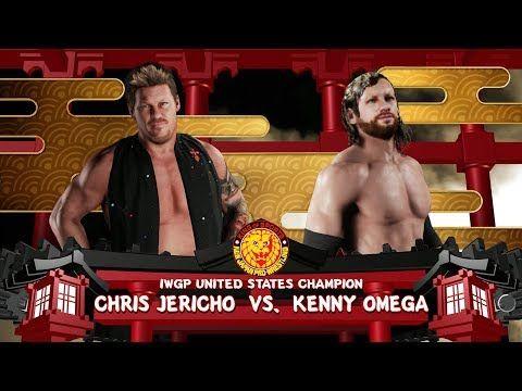 Kenny Omega VS Chris Jericho - WWE 2K18 Simulation