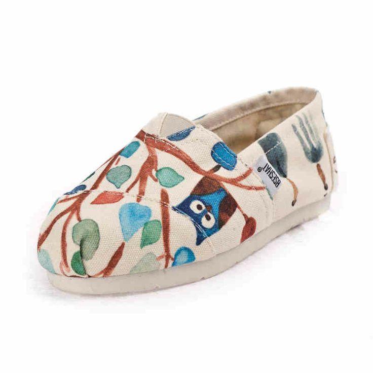 Белый песчаный пляж 14 моделей весны холст обувь студентка печати корейской версии повседневная обувь прилива обувь обувь ленивый обувь-tmal ...
