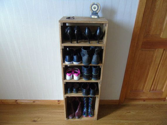Handmade Retro Style Wooden Shoe Cabinet/Rack Many By RG73Woodwork