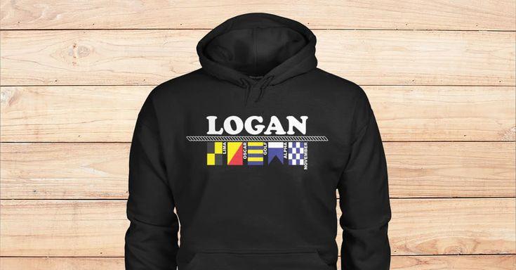 SPECIAL BLACK HOODIES FOR LOGAN. Please checkout on Viralstyle!#names #alphabet #flags #alphabetflags #logan #nameslogan