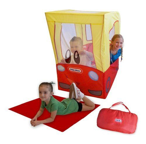 On-The-Go Cozy Coupe Play House by Little Tikes. $39.62. Carry case with zipper. Two handles. Fold down for easy travel and storage. Includes play mat and carrying case. Tunnel port hole to connect other products. Includes play mat and carrying case. Tunnel port hole to connect other products. Fold down for easy travel and storage. Carry case with zipper. Two handles. Mesh windshield. Made from polyester and PVC poles. Multicolor. Assembly required. 34 in. L x 24 in. ...