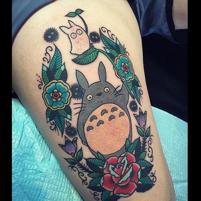 530 best tattoos miyazaki images on pinterest studio ghibli anime tattoos and studio ghibli. Black Bedroom Furniture Sets. Home Design Ideas