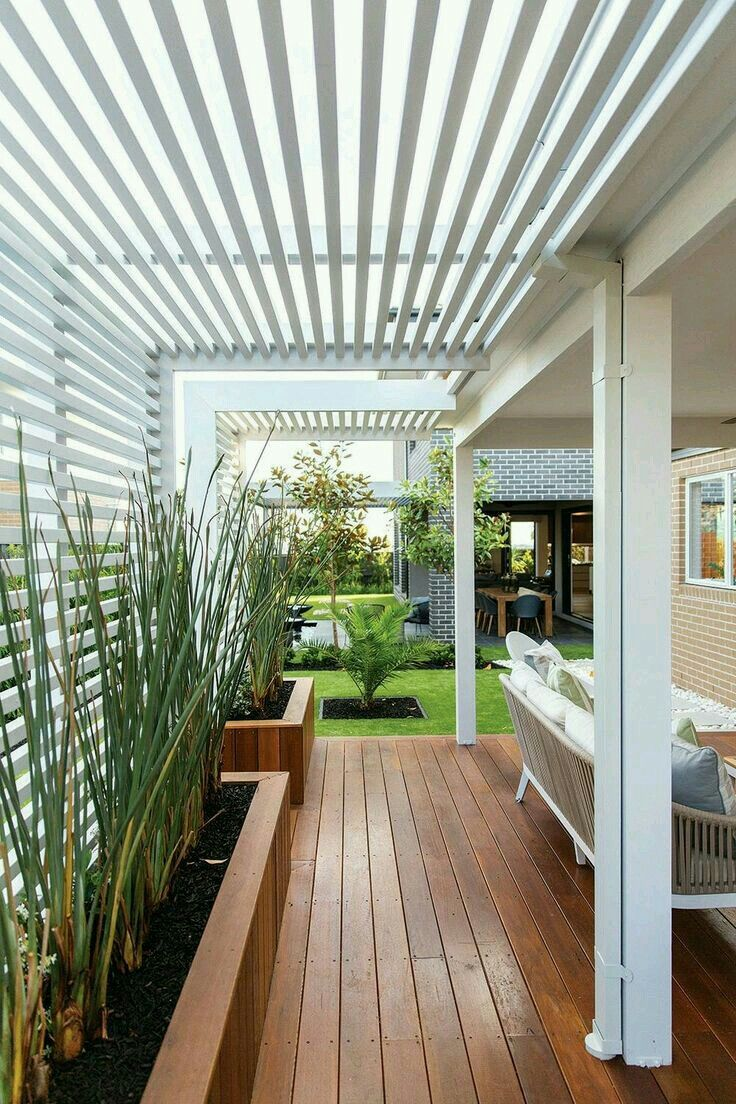 Pinterest Jardin Terrasse Hardwood Deck Pretty Trellis Outdoor Living Space Pinterest