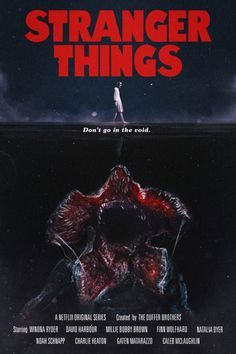Estos pósters de Stranger Things inspirados en películas de los 80 son realmente geniales - La Criatura Creativa