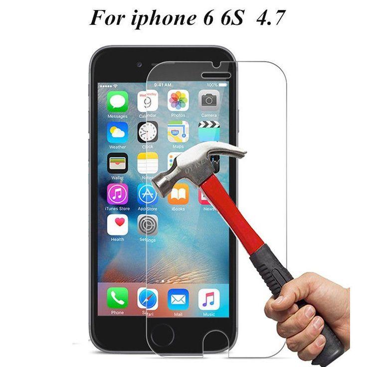 Screen Protector Shatterproof Tempered Glass Iphone iPhone 4s 5 5s SE 6 6s Plus #UnbrandedGeneric