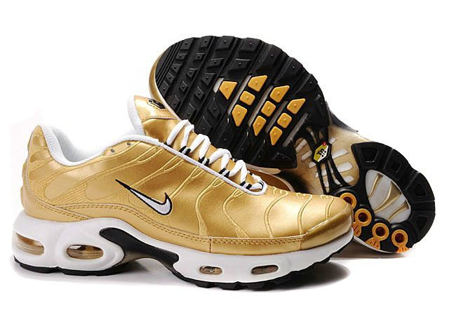 nike tn air max white and gold nz