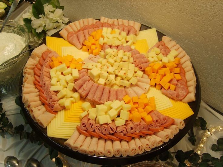 meat and cheese tray ideas