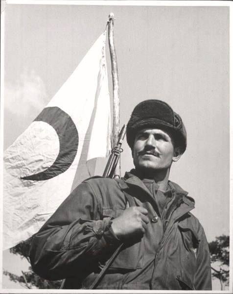 1951 - Kore'de Türk askeri nöbette