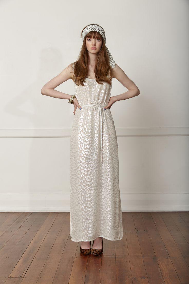 Carlson Society Dress - Silver