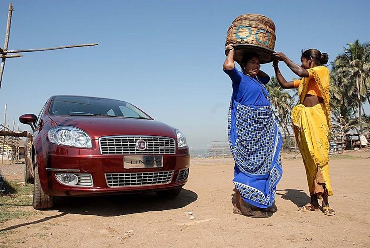 Fiat Linea w Indiach