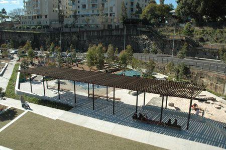 urban park shade structure - Cerca con Google