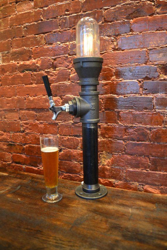 Torre de la cerveza cerveza grifo manija de por WestNinthVintage