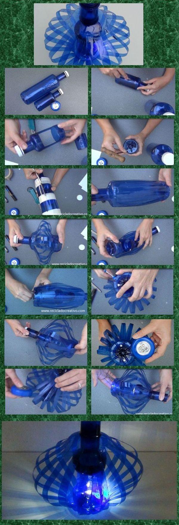 6 botellas de reciclaje