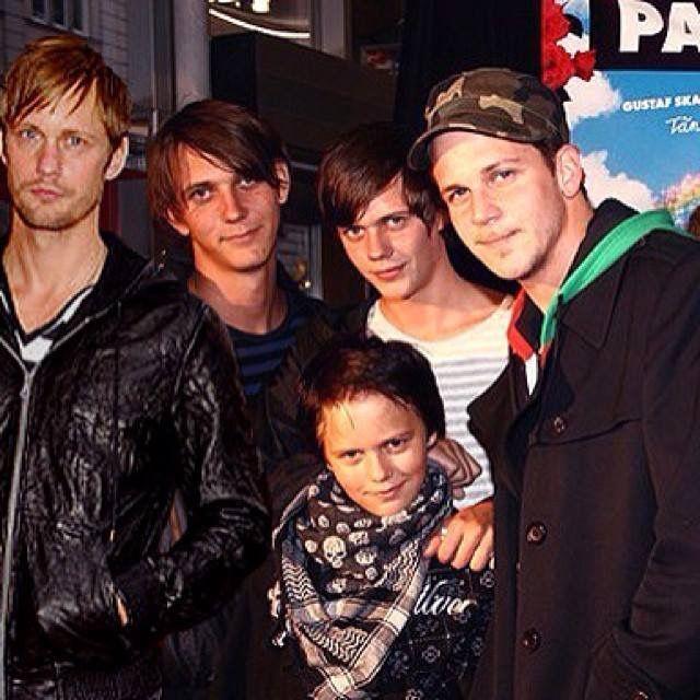 Alex, Sam, Bill, Gustaf and Valter in front.