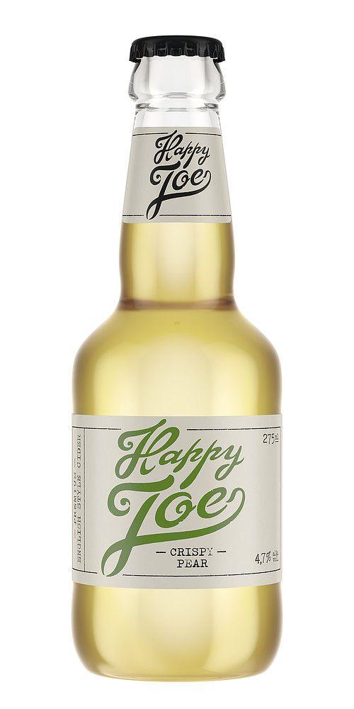Happy Joe on noussut muutamassa vuodessa premium-siiderin ystävien suosikiksi. Uusi päärynäsiideri laajentaa rakastettua tuoteperhettä entisestään. Puolikuiva Happy Joe Crispy Pear® on aidon päärynän makuinen, hedelmäisen raikas ja aromikas premium-päärynäsiideri. Se sopii erinomaisesti sekä seurustelujuomaksi että ruoan kanssa nautittavaksi.