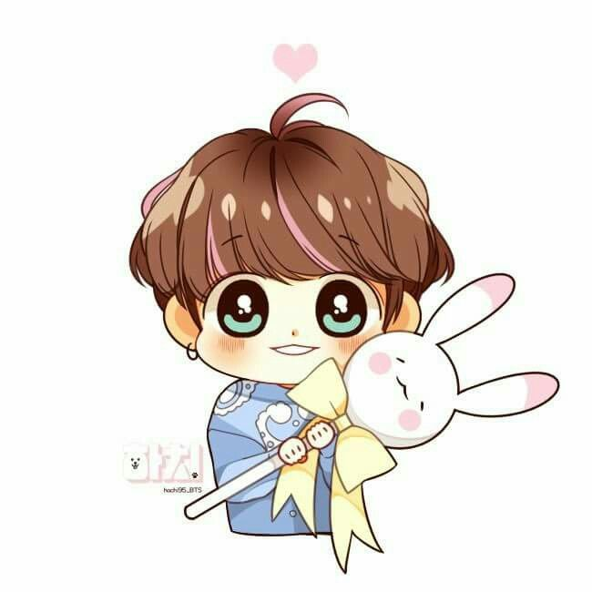 Pin By 𝙞𝙨𝙝 On Fanarts Bts Chibi Chibi Bts Fanart