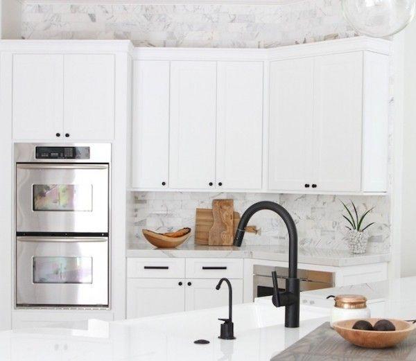Black Kitchen Faucet Becki Owens