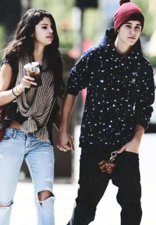 Selena Gomez and Justin Bieber Jelena style