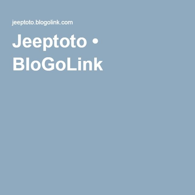 Jeeptoto • BloGoLink
