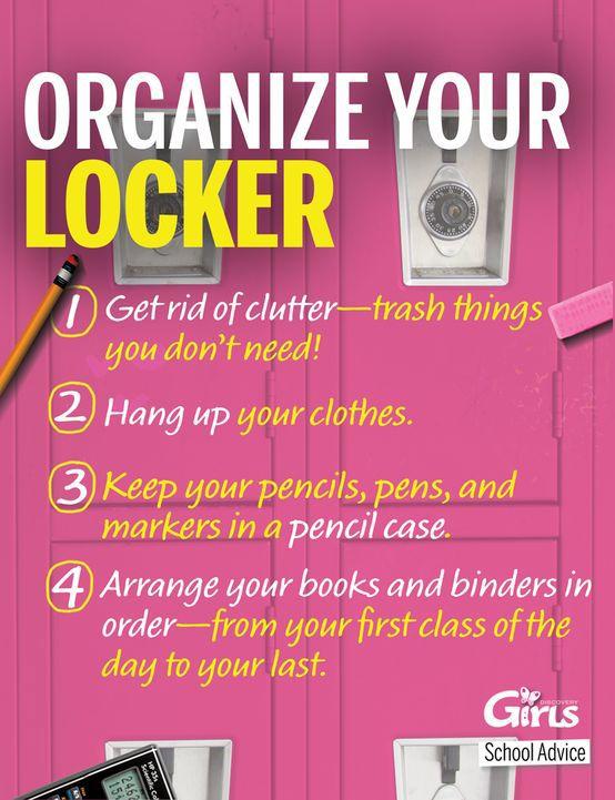 diy locker tips and tricks