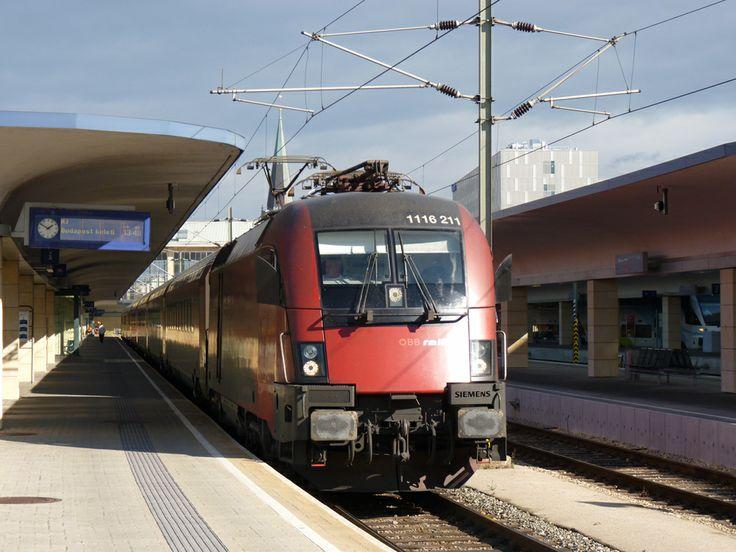 #ÖBB #Railjet at Wien-Westbahnhof: Photo: Jan-Felix Tillmann