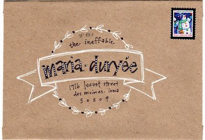 pushing the envelopes: krafty maria
