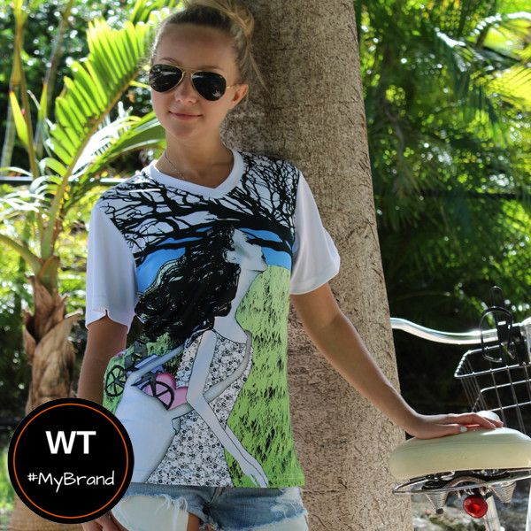 Whether you are a solo woman traveler, a voluntourist or just dreaming of your future trip, this beautifully designed women's active wear tee is sure to inspire your imagination.