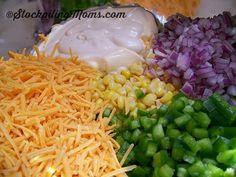 Paula Deen Frito Corn Salad is amazing!