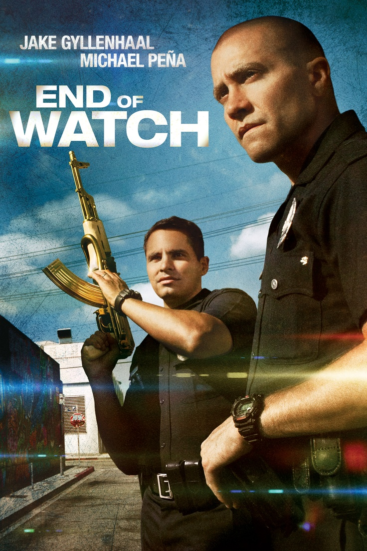End of Watch. I LOVED this movie and the fact that Jake Gyllenhaal was in this movie made it 1000x better. Highly recommended!