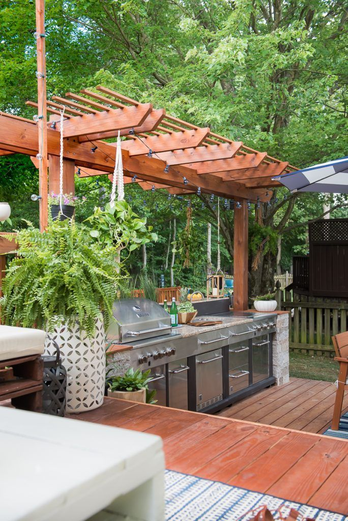 awesome Outdoor Kitchen Designs Diy Part - 17: Outdoor kitchen design ideas - bar - Find and save ideas about Outdoor  kitchen Ideas on steeringnews.com | See more ideas about Outdoor kitchen  layout ...