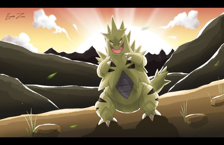 Pokemon: Tyranitar by EspadaZero.deviantart.com on @deviantART
