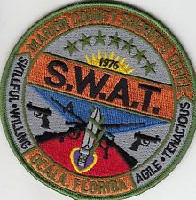 MARION COUNTY SHERIFF'S OFFICE SWAT PATCH FLORIDA