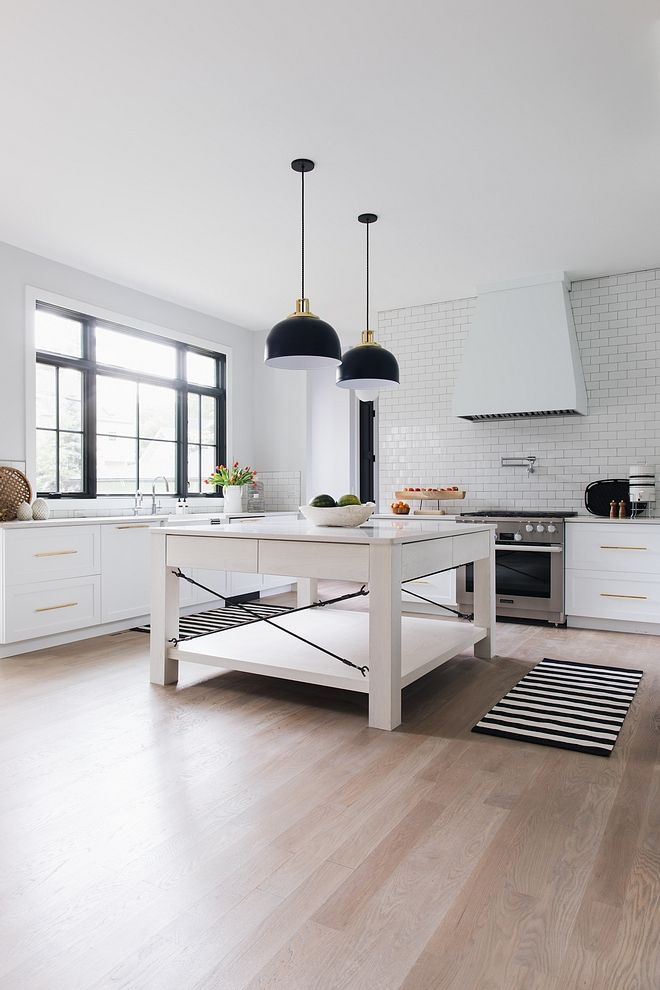 Best Bleached White Oak Kitchen Island White Kitchen With Large 400 x 300
