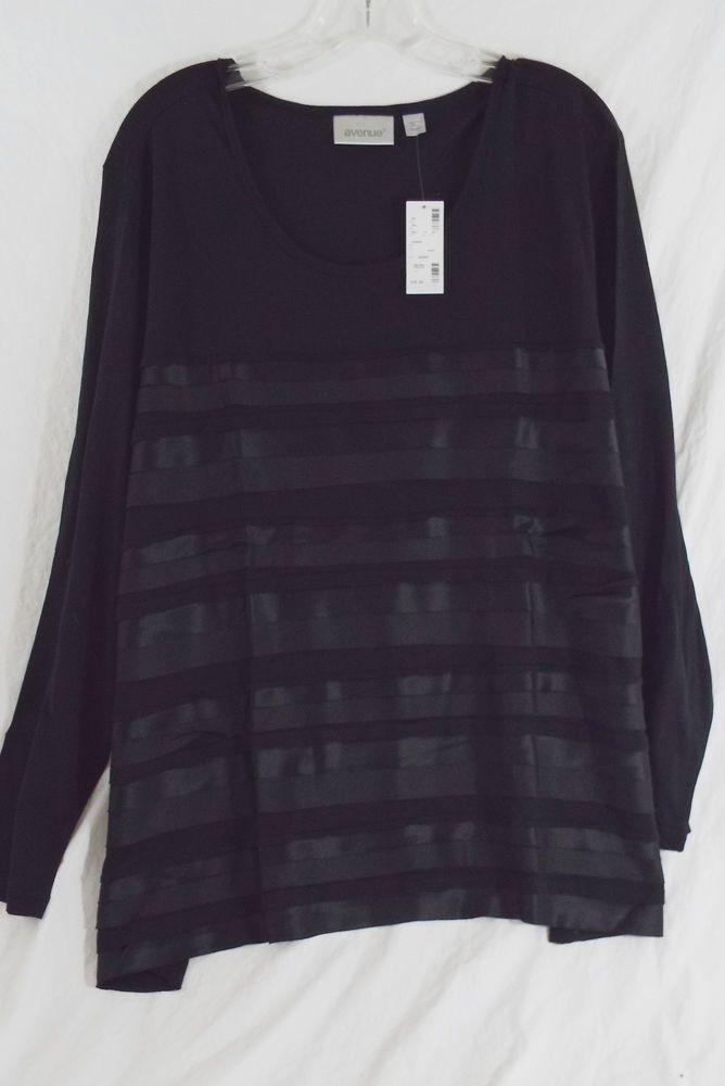 Maternity Stripe Crochet Trim, T-Shirt Femme, Noir (Black Pattern 9), 42New Look